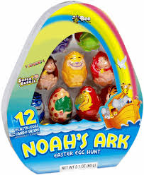 candy filled easter eggs noah s ark candy filled easter eggs 12ct
