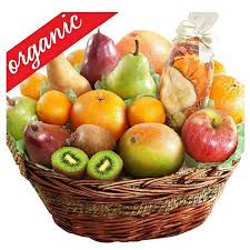 organic fruit basket deluxe organic fruit gift basket gourmet gift baskets for all
