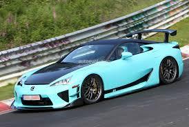 lexus lfa blue spyshots lexus lfa tokyo final edition autoevolution