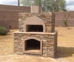 stone wood fired pizza oven anthem az desert crest llc