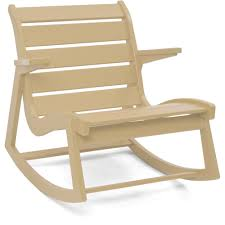Wooden Rocking Chair Dimensions Rapson Low Back Rocker Chair Loll Designs Horne
