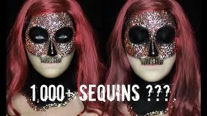 Mask Of Halloween Sequin Skull Mask 1 000 Sequins 31 Days Of Halloween