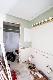 Kids Bathroom Makeover - mission demolition diy bathroom project continued the