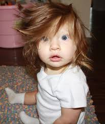 hair for babies a baby has gorgeous hair bouffant babies pictures pics