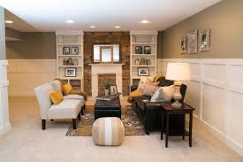 basement traditional wood wall panelling and wainscoting ideas