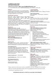 Sample Resume With References Included by Graphic Designer Resume Format