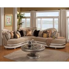 home decorators ottoman living room benettis italia ravenna sectional sofa with round