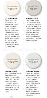 4 white grey neutral paint colors from benjamin interiors