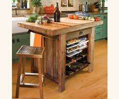 rustic kitchen islands and carts kitchen island american barn wood traditional intended for rustic