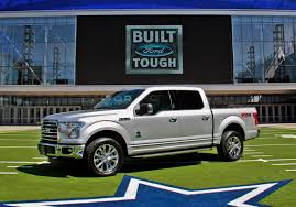 Ford F150 Truck Interior Accessories - ford reveals limited edition 2017 dallas cowboys f 150 equipment
