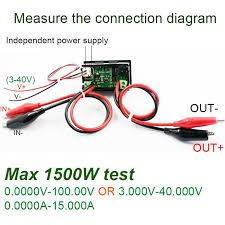 100v 15a dc voltmeter u2013 ammeter u2013 battery capacity tester u2013 12volt