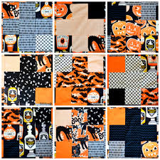 spooktacular quilt top u2013 mini tutorial u2013 modern handcraft