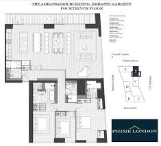 embassy floor plan 3 bedroom apartment for sale in ambassador building embassy
