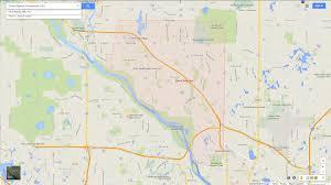 Map Minnesota Coon Rapids Minnesota Map