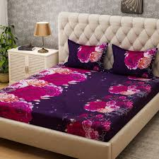 Bombay Dyeing Single Bed Sheets Online India Bombay Dyeing Microfiber 3d Printed Double Bedsheet Buy Bombay