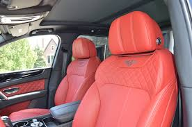 2017 bentley bentayga red interior 2017 bentley bentayga stock gc roland153 for sale near chicago