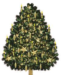 Large Animated Christmas Decorations by Animated Christmas Trees Christmas Tree Clip Art