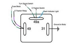 3 pin relay wiring diagram 6 best images of signal light flasher