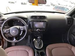 kia soul interior chocolate brown leather kia pinterest kia