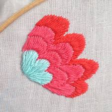 Small Designs by Tutorial Otomi Embroidery Stitch Sarita Creative