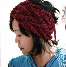 knit headbands free pattern headband getting purly with it