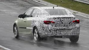 opel astra sedan 2013 opel astra sedan spied undergoing testing