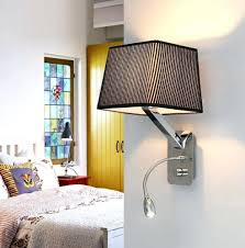 Bedroom Reading Lights Bedroom Reading Lights Photo 4 Of 4 Creative Fabric Wall Sconces