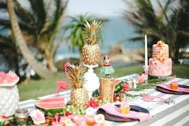 Lovely Hawaiian Table Decoration Hawaiian Table Decorations – dway