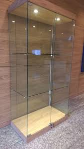 Wall Mounted Glass Display Cabinet Singapore Perfect Frameless Glass Cabinet Doors With L In Decor