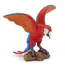 bird figures papo 50158 macaw animal figures at spielzeug guenstig de