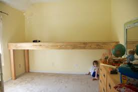 Plans For Making Loft Beds by Basic Platform For Loft Bed Add Plain Or Decorative Railing Of