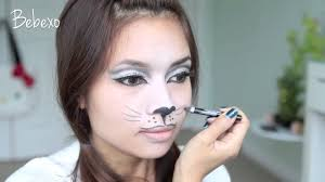 simple cat face makeup simple black cat face paint makeup idea