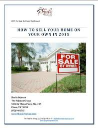 how to sell your home on your own fsbo the fejeran group