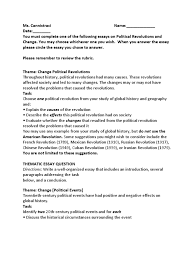 sample thematic essay on belief systems thematic essay question political revolution and change politics thematic essay question political revolution and change politics psychological concepts