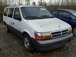 dodge cer vans for sale salvage certificate 1995 dodge caravan extended 3 3l 6 for sale in