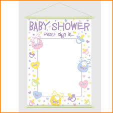 baby shower sign 5 baby shower sign in sheet dialysis
