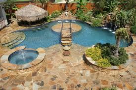 Backyard Paradise Ideas Backyard Paradise Tropical Pool Dallas By El Dorado Pools
