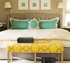 Gorgeous Grey Turquoise And Yellow Bedroom Designs Home - Grey and yellow bedroom designs