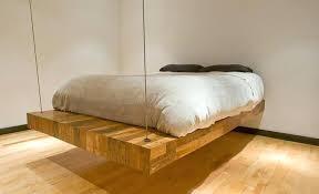 Floating Bed Frame For Sale Floating Bed Frame Solid Wood Bed Frame Floating Bed Frame