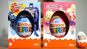 big kinder easter edition eggs batman polly pocket