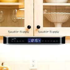 under cabinet kitchen radio cd player under cabinet kitchen radio or photo 8 63 kitchen cabinet radio cd