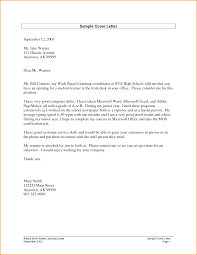 Cover Letters For College Graduate Basic Resume Template For High Graduate