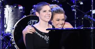 Wildfire Tv Show Song by Rachel Platten Sings U0027fight Song U0027 With Young Cancer Survivor