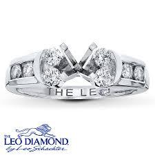 leo diamond ring kayoutlet leo diamond ring setting 1 2 ct tw cut 14k white
