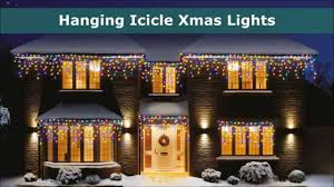 Outdoor Icicle Lights Outdoor Lights Icicle Led And Supabright Lights