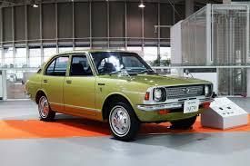 toyota corolla second toyota corolla sedan coupe 1970 1978 e20 second