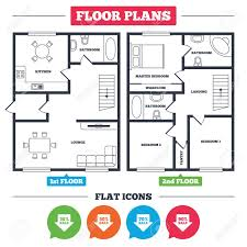 Architecture Plan With Furniture House Floor Plan Sale Arrow Special Floor Plans