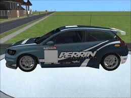 volvo corp sims 2 car conversion by vovillia corp 2008 volvo c30 stcc