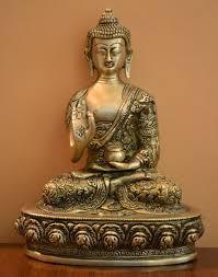 amazon com beautiful handmade buddha statue in blessing posture
