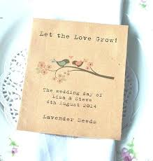 wedding seed favors wedding seed favors on seed packets for wedding favours